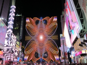 Mandala in Times Square
