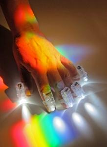Light Painting Hand