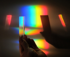 Painting with a prism